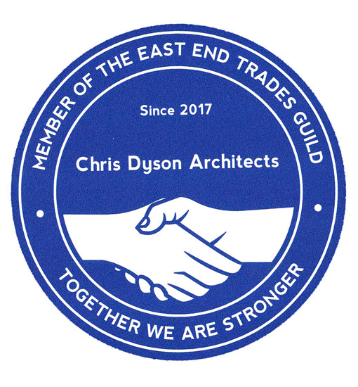CDA accepted as members of East End Trades Guild - Chris Dyson Architects