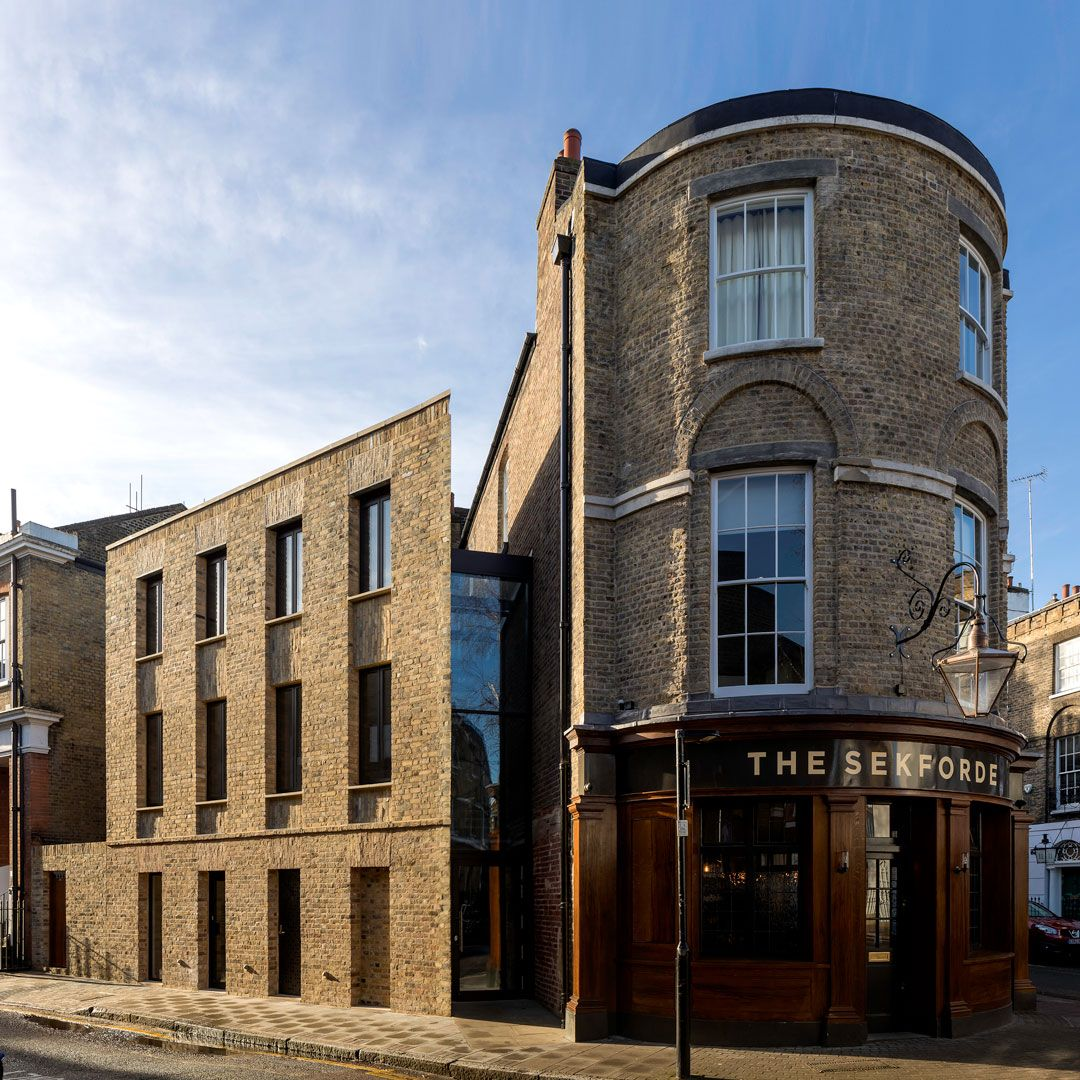 The Sekforde shortlisted for the brick awards refurbishment category