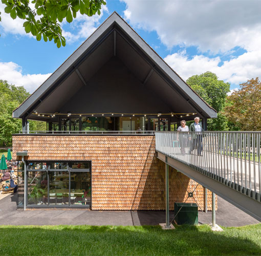 Crystal palace park cafe featured in the plan - Chris Dyson Architects