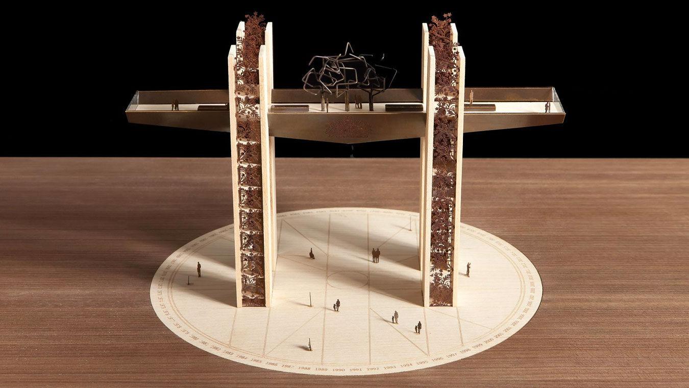 HM The Queen Triumphal Arch
