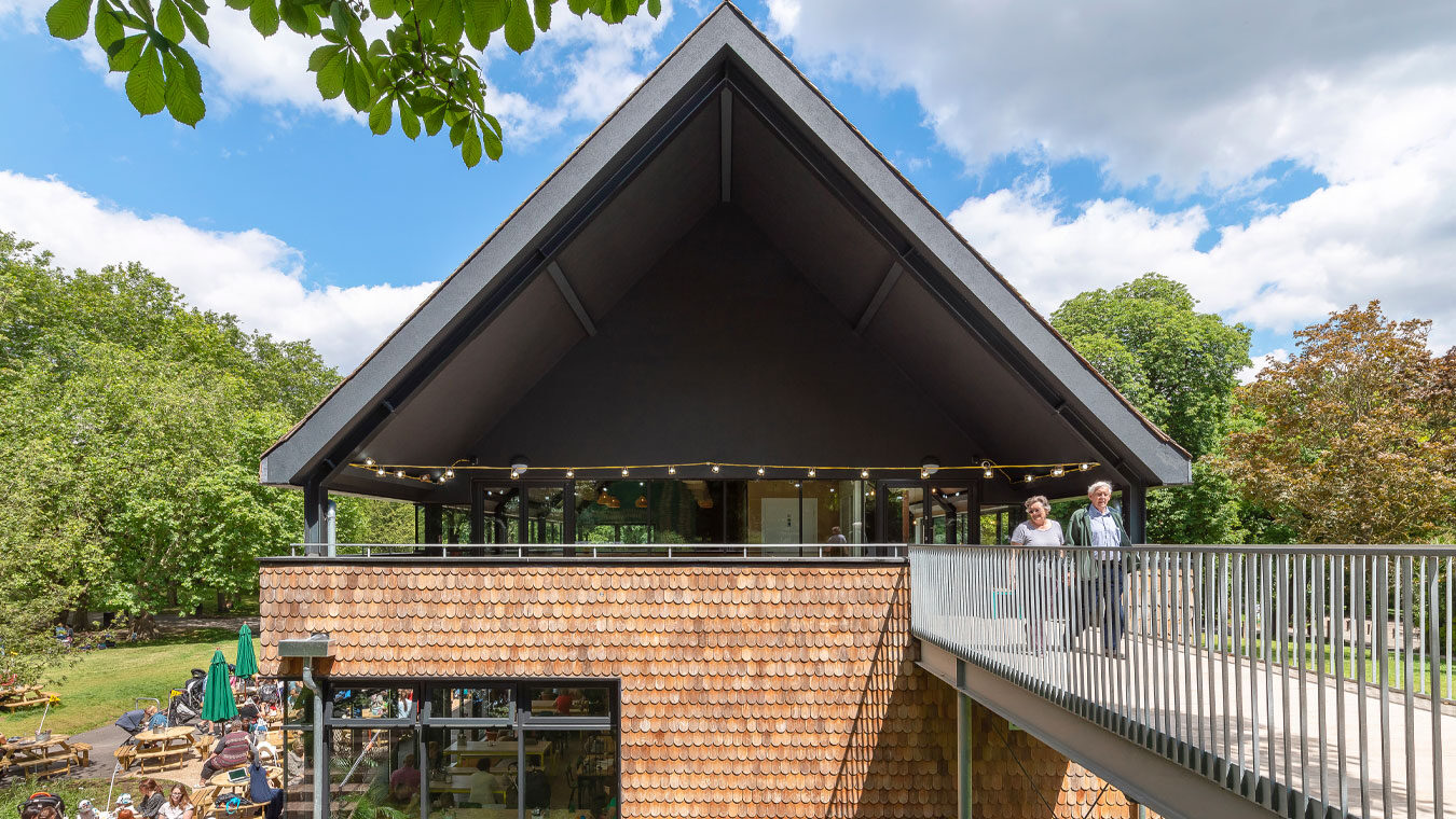 Chris Dyson Architects | Crystal Palace Park - New Café