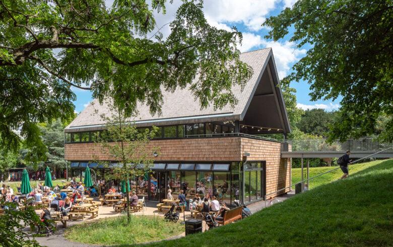 Chris Dyson Architects | Crystal Palace Park - New Café