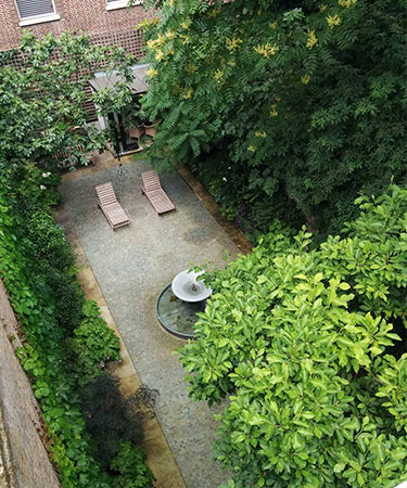Private Fountain, Kensington - Chris Dyson Architects