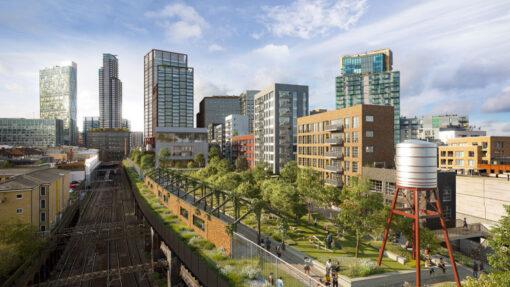 Mayor approves Bishopsgate Goodsyard Masterplan - Chris Dyson Architects